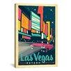iCanvas 'Las Vegas, Nevada' by Anderson Design Group Vinatage Advertisement on Canvas