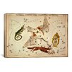 iCanvas 'Lacerta, Cygnus, Lyra, Vulpecula and Anser' by Sidney Hall Graphic Art on Canvas