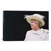 iCanvas Political Queen Elizabeth Portrait Photographic Print on Canvas