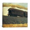 "iCanvas ""Railroad Train, 1908"" by Edward Hopper Painting Print on Canvas"