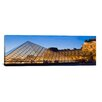 iCanvas Panoramic 'Louvre Pyramid, Paris, France' Photographic Print on Canvas