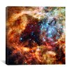iCanvas R136 Star Cluster (Hubble Space Telescope) Canvas Wall Art