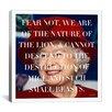 iCanvas Queen Elizabeth Quote Canvas Wall Art