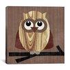 "iCanvas ""Owl 2"" Canvas Wall Art by Erin Clark"