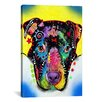 iCanvas 'Otter Pit Bull' by Dean Russo Graphic Art on Canvas