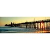 iCanvas Panoramic Oceanside Pier, Oceanside, California Photographic Print on Canvas