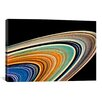 iCanvas Modern Art Rings of Saturn Graphic Art on Canvas