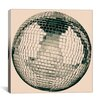 iCanvas Modern Art Disco Ball Graphic Art on Canvas