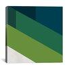 iCanvas Modern Art Green Blades of Grass Graphic Art on Canvas