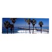 iCanvas Panoramic 'San Clemente Pier, Los Angeles County, California' Photographic Print on Canvas