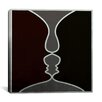 iCanvas Modern Art Face to Face Painting Print on Canvas