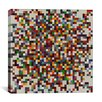 iCanvas Modern Art cPixilated Tile Art Colorful Cluster Modern Graphic Art on Canvas
