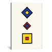iCanvas Modern Square Composition Graphic Art on Canvas