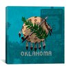 iCanvas Flags Oklahoma Route 66 Graphic Art on Canvas