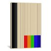 iCanvas Modern Rainbow Silo Graphic Art on Canvas