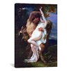 iCanvas Fine Art 'Nymph Abducted by a Faun' by Alexandre Cabanel Painting Print on Canvas