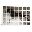 iCanvas Modern Swimming Horse Graphic Art on Canvas