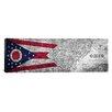 iCanvas Flags Ohio Panoramic Graphic Art on Canvas