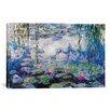 iCanvas Nympheas by Monet Canvas Print