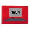 iCanvas Modern Art Eyes on 1984 Graphic Art on Canvas