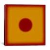 iCanvas Modern Art Red Hot Sun Graphic Art on Canvas
