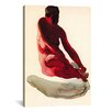 iCanvas 'Nude Series (Seated Red)' by Georgia O'Keeffe Painting Print  on Canvas