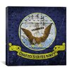 iCanvas Flags Navy Rivet with Lomo Film Graphic Art on Canvas