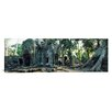 iCanvas Panoramic Old Ruins of a Building, Angkor Wat, Cambodia Photographic Print on Canvas