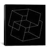 iCanvas Modern Art Cube Illusion Graphic Art on Canvas