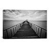 iCanvas Photography 'Ocean Train 2' by Michael De Guzman Photographic Print on Canvas