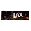 iCanvas Panoramic 'LAX Airport, Los Angeles, California' Photographic Print on Canvas