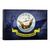 iCanvas Flags Ticonderoga-Class Guided-Missile Cruiser Graphic Art on Canvas