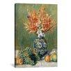 iCanvas 'Nature Morte, Fleurs Et Fruits 1889' by Pierre-Auguste Renoir Painting Print on Canvas