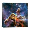 iCanvas Mystic Mountain in Carina Nebula II (Hubble Space Telescope) Canvas Wall Art