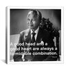 iCanvas Nelson Mandela Quote Canvas Art