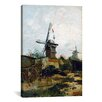 iCanvas 'Montmartre with Mills and Vegetables Gardens' by Vincent van Gogh Painting Print on Canvas
