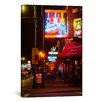 iCanvas Panoramic Rum Boogie Cafe, Memphis, Tennessee Photographic Print on Canvas
