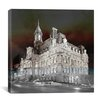 iCanvas Canada Montreal City Hall 3 Photographic Print on Canvas