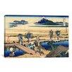 iCanvas 'Nakahara in the Sagami Province' by Katsushika Hokusai Painting Print on Canvas