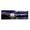 iCanvas Panoramic Monument Lit Up at Dusk, Jefferson Memorial, Washington, D.C Photographic Print on Canvas