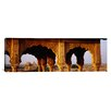 iCanvas Panoramic Monuments at a Place of Burial, Jaisalmer, Rajasthan, India Photographic Print on Canvas