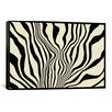iCanvas Modern Art Zebra Print Graphic Art on Canvas
