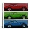 iCanvas Modern Art Vintage Aston Martin Graphic Art on Canvas