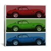 iCanvas Modern Vintage Aston Martin Graphic Art on Canvas