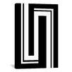 iCanvas Modern Art Hairpin Turns Graphic Art on Canvas