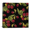 """iCanvas """"Nature's Bounty - Raspberries"""" Canvas Wall Art by Mindy Sommers"""