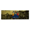 iCanvas Flags New Jersey Ocean City Boardwalk Panoramic Graphic Art on Canvas