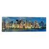 iCanvas Panoramic 'New York Skyline Cityscape (Manhattan)' Photographic Print on Canvas