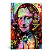 "iCanvas ""Mona Lisa"" by Dean Russo Graphic Art on Canvas"