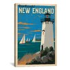 iCanvas 'New England' by Anderson Design Group Vintage Advertisement on Canvas